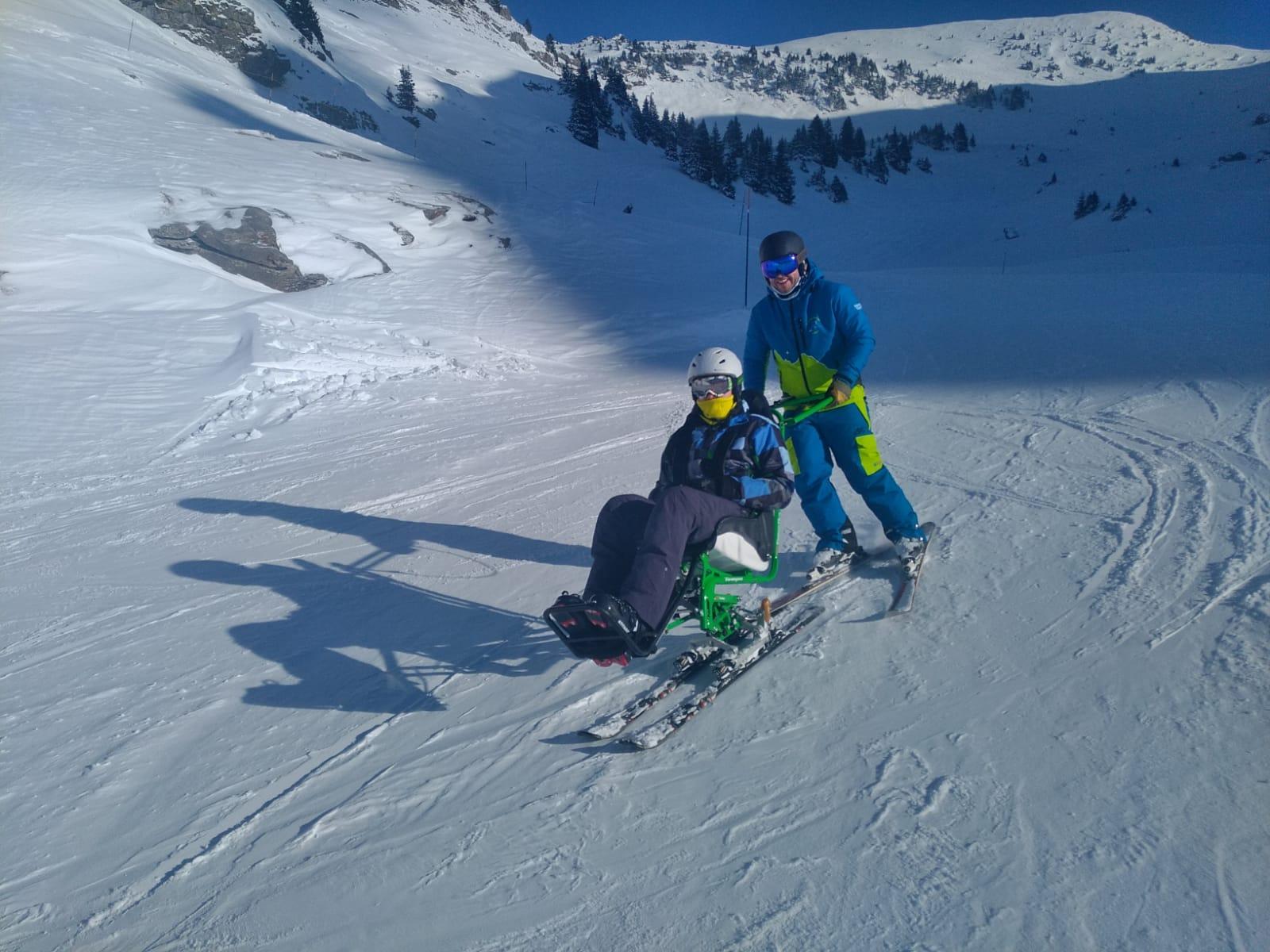 dual ski