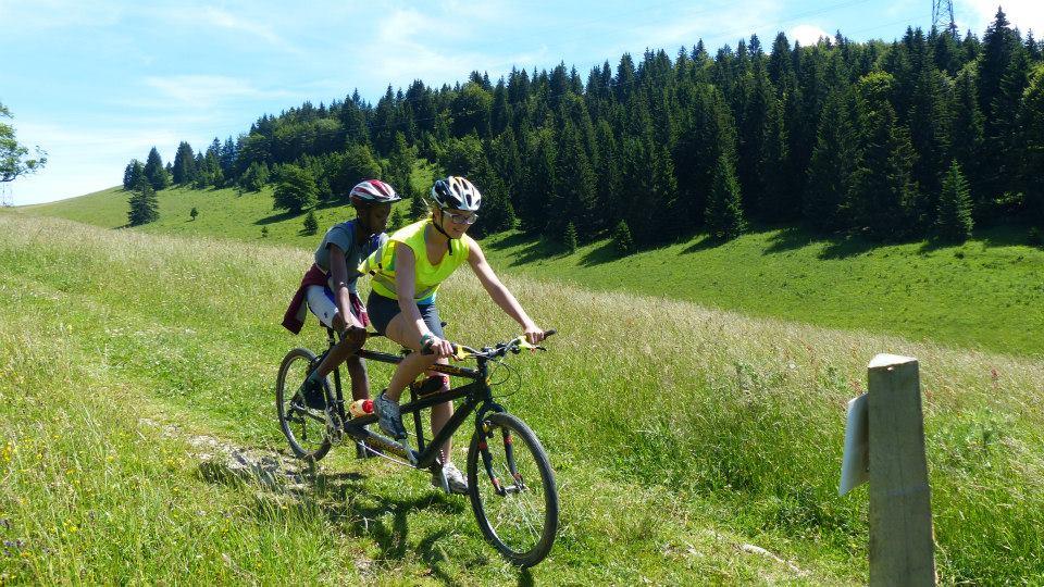 activite cyclisme tandem